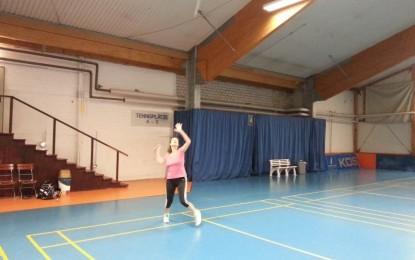 Badminton in den Weihnachtsferien
