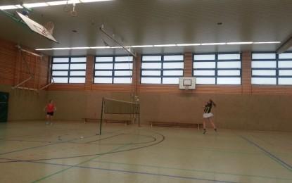7:1 Sieg unserer Badminton-SG im Sonntagsspiel