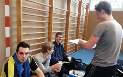 Unser Badmintonteam verliert 3:5 gegen die FreienTurner
