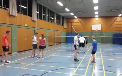 Badminton Jugendtraining beim TTC