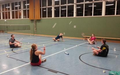 Badminton Jugendtraining mal etwas anders