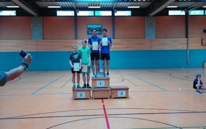 Benjamin´s & Justin´s erster Turnierauftritt bei den Stadtmeisterschaften 2016 der Jugend