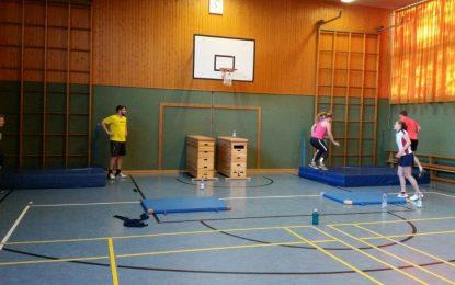 Badminton: Jugendtraining Impressionen