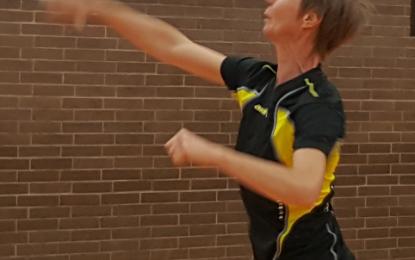 """Badminton: Die """"Zweite"""" holt 3 Punkte"""
