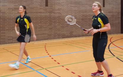 """Badminton: Die """"Zweite"""" fährt 2 weitere Punkte ein"""