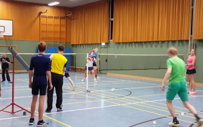 Badminton: Video-Impressionen von Jugendtraining