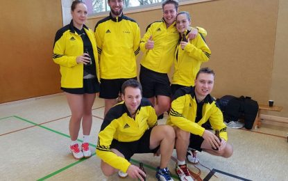 "Badminton: Die ""Erste"" lässt Federn"