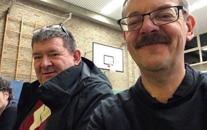 Badminton: Gemeinsames Training kurz vor Weihnachten