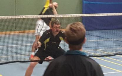 """Badminton: Die """"Zweite"""" gewinnt 5:3 gegen Blau Gold I"""