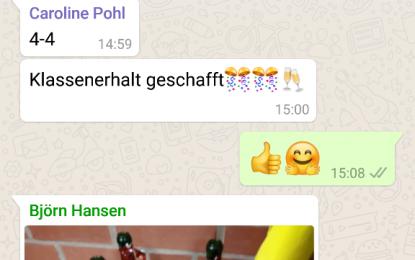 """Badminton: 4:4 der """"Ersten"""" im Saisonfinale gegen MTV Seesen I"""
