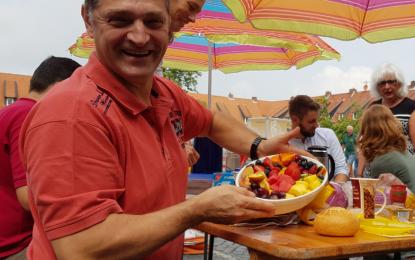 Badminton: Südstadtfrühstück auf dem Welfenplatz