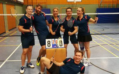 """Badminton: Wahnsinn, die """"Erste"""" gewinnt die Relegation gegen Göttingen"""