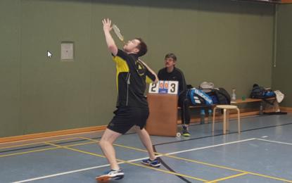 Badminton: Wenigstens einen Punkt für die Zweite