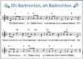 Badminton: Aktion #BecherMitUns